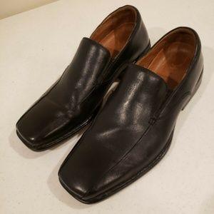 Rockport  Black Leather Loafer MENS SHOE Size 9M